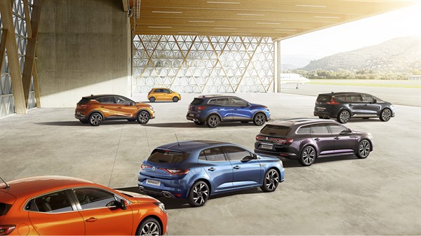 Renault Concept cars dynamic designs